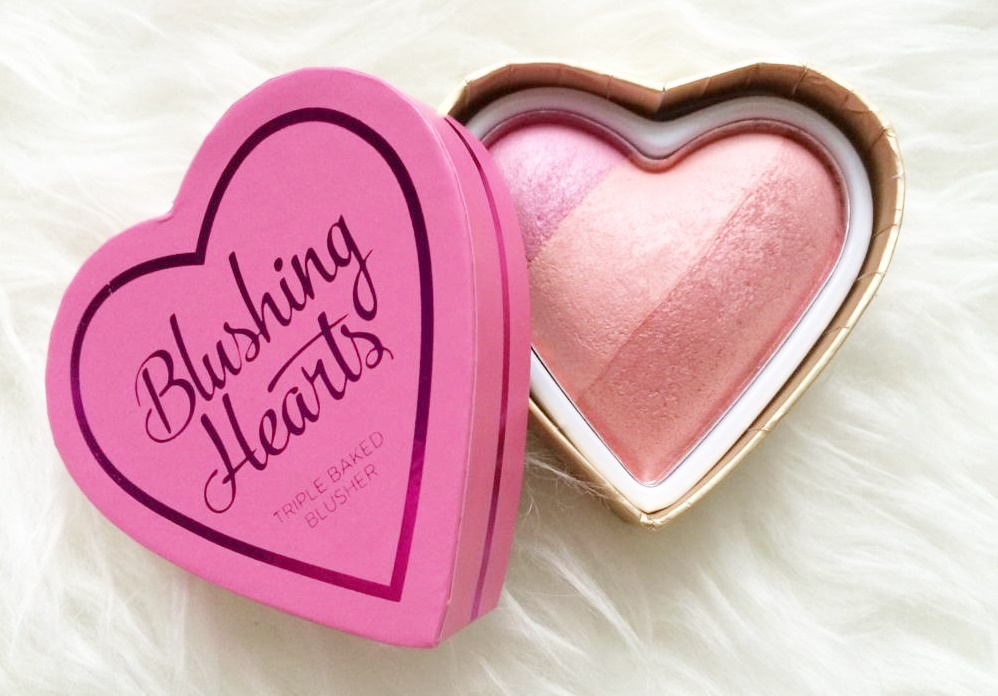 I ♡ Makeup Blushing Hearts-Candy Queen of Hearts Blusher.
