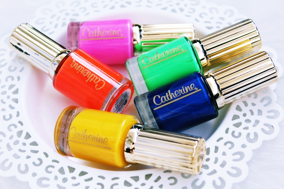 Catherine Nail Collection by Natascha Ochsenknecht.