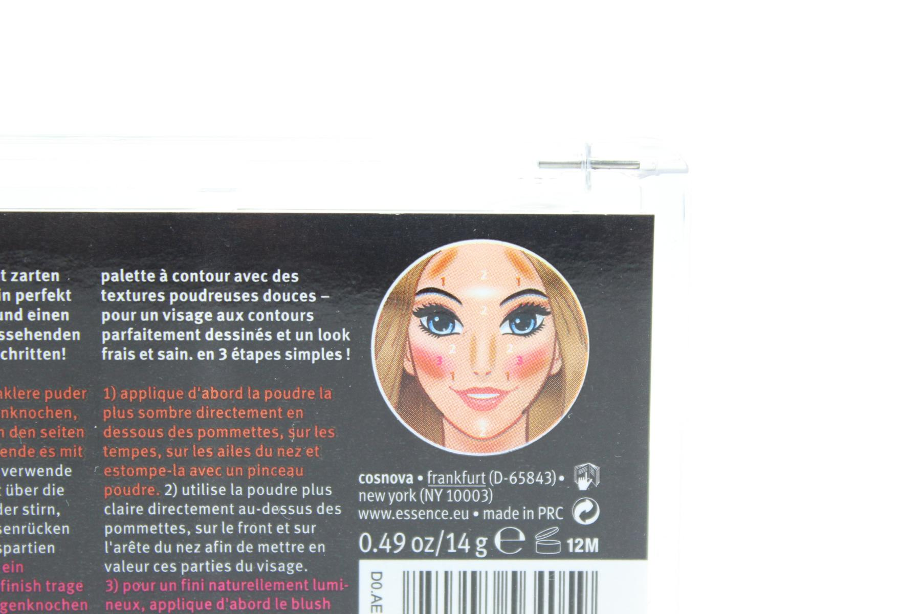 "essence shape your face contouring palette ""10 ready, set, peach"""