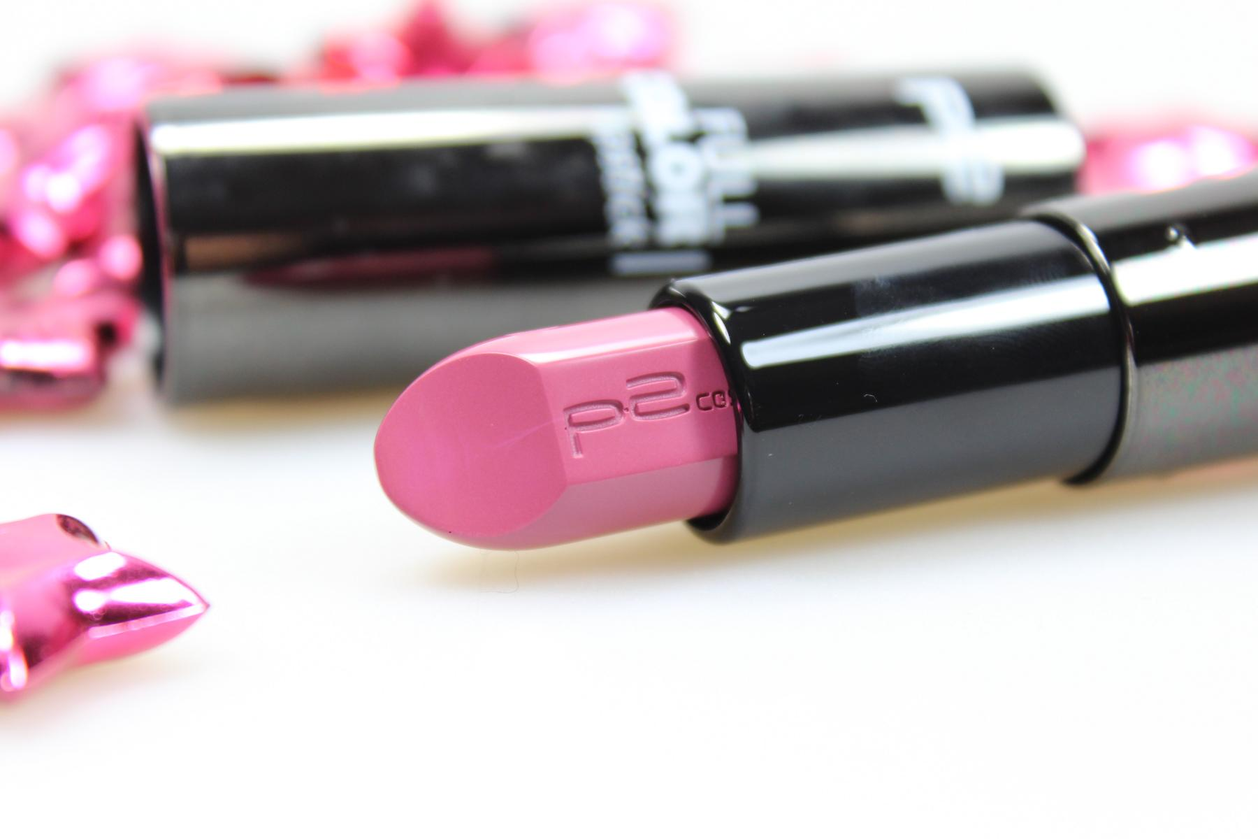 "p2 cosmetics full color lipstick ""200 give a clue"""